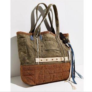 Free People Tatum Selvage Tote Bag NEW